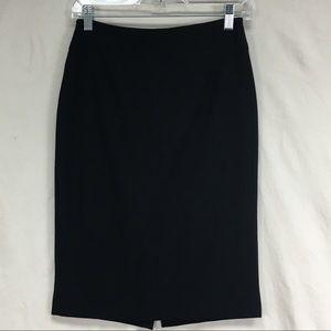 WHBM Body Perfecting Stretch Fit Pencil Skirt Sz 0